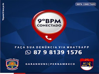 9º BPM Conectado 24 horas por dia