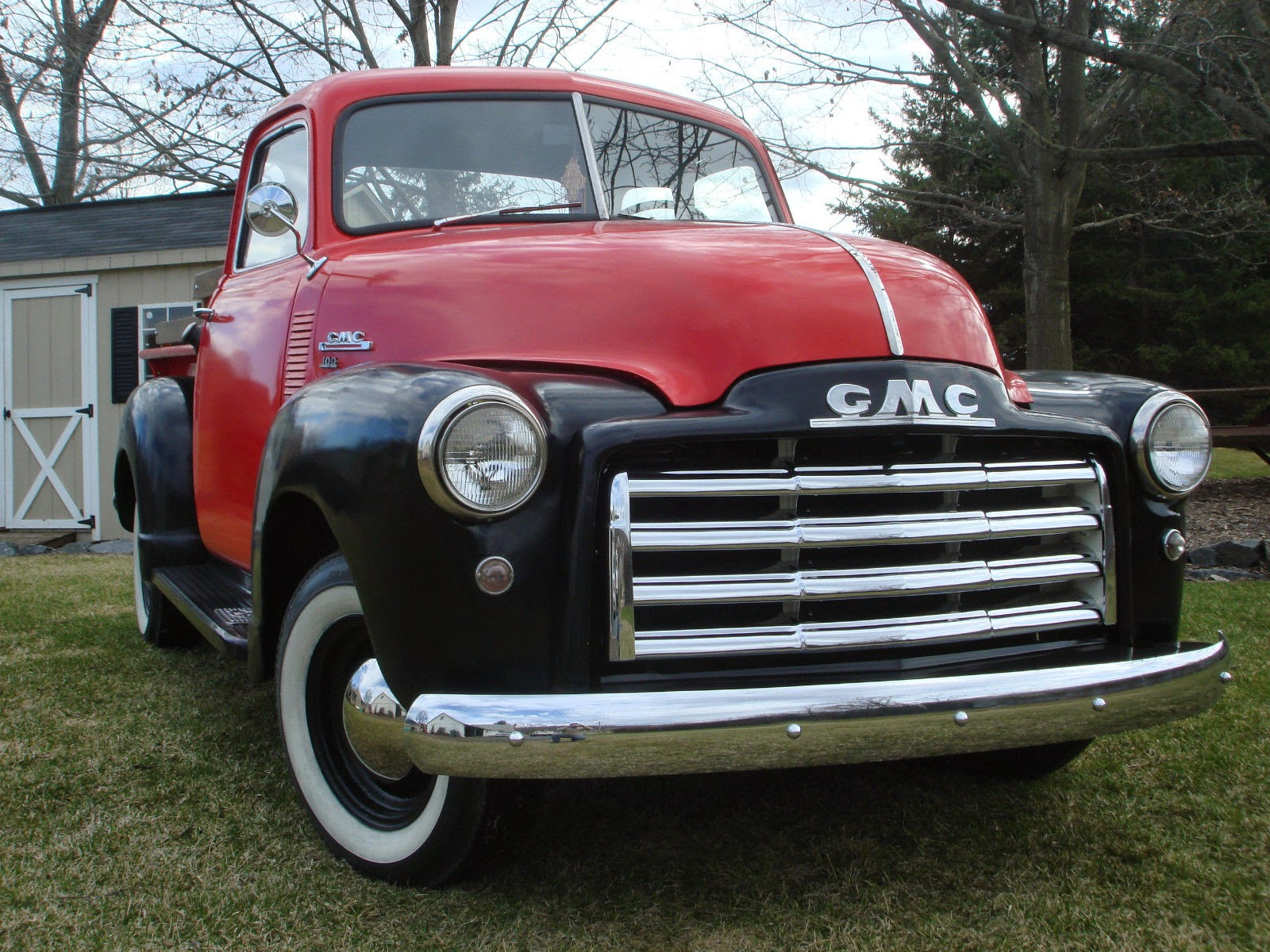 All American Classic Cars 1948 Gmc 100 Pickup Truck 2 Ton