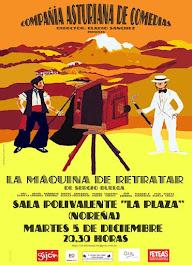 """5 de diciembre. SALA POLIVALENTE """"LA PLAZA"""". 21,30 Horas"""