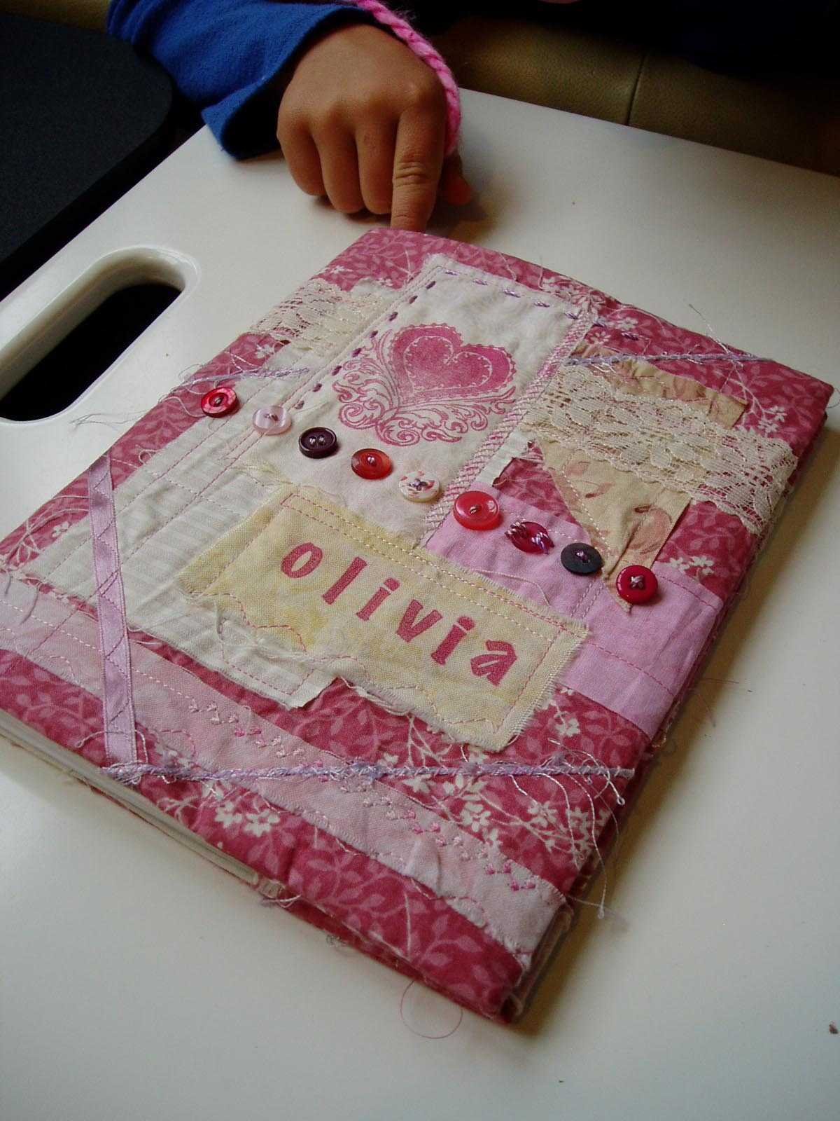 Quilted Book Cover Pattern : The slightly mad quilt lady fabric book cover