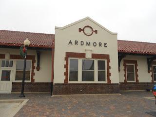ardmore oklahoma amtrak station