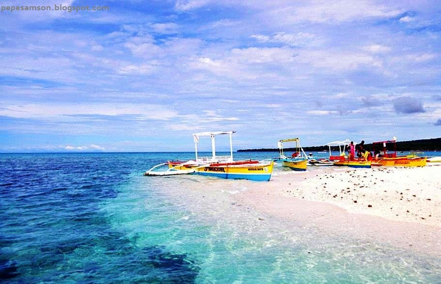 how to get to white island camiguin