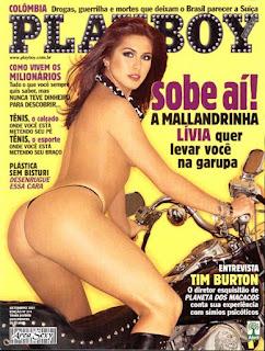Livia Andrade - Capa Playboy