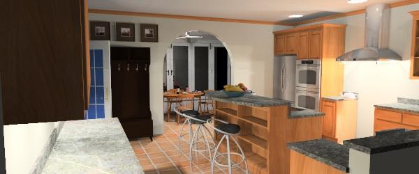 Render plus blog sketchup autocad and more kitchen for Kitchen designs sketchup