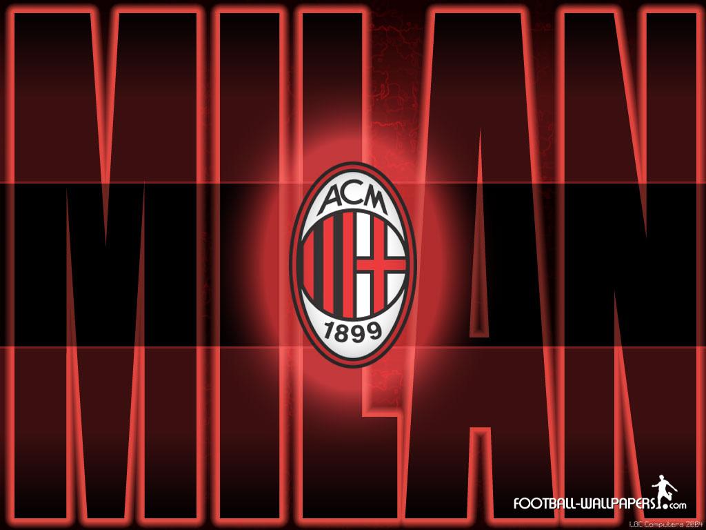 milan logo football
