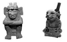 escultura asteca