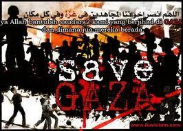 Gaza, Kami Bersamamu