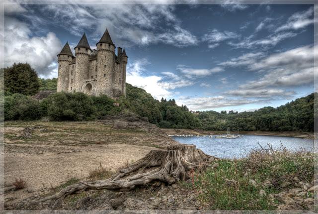 photo hdr chateau, auvergne, fabien monteil