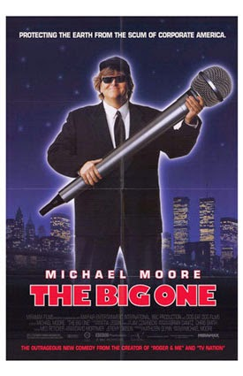 Affiche du film The Big One, de Michael Moore (1998)