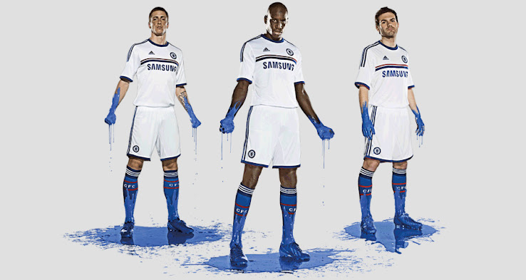Chelsea 13 14  2013 14  Away And Third Kits Released   Footy Headlines