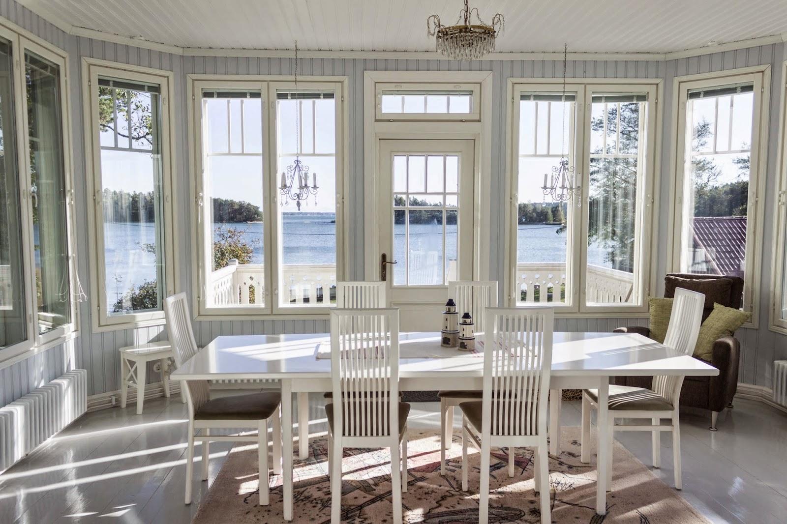 lasiveranta, maalaisromanttinen, veranta