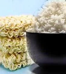 efek makan mie dan nasi