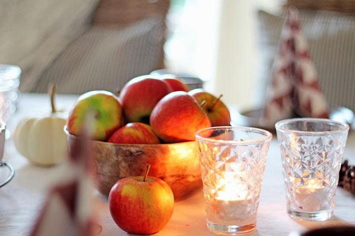 Amalie loves Denmark Äpfel und Kerzenschein