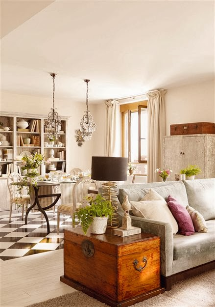Good morning style muebles de doble uso - Baul decoracion ...
