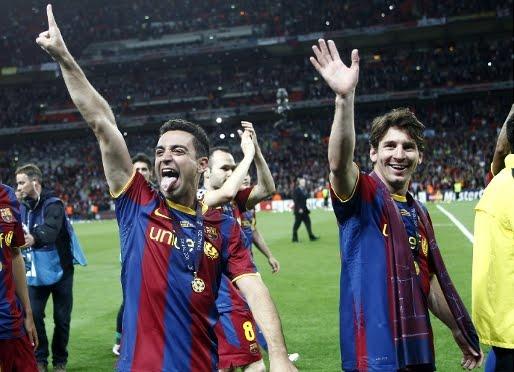 lionel messi 2011_05. Iniesta and Lionel Messi