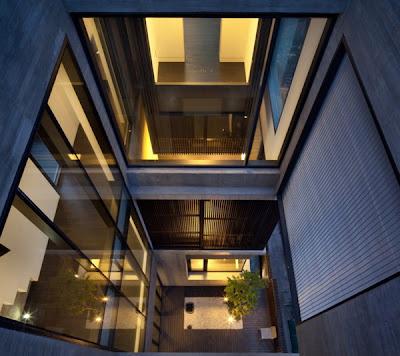 Rumah Modern Korea 6