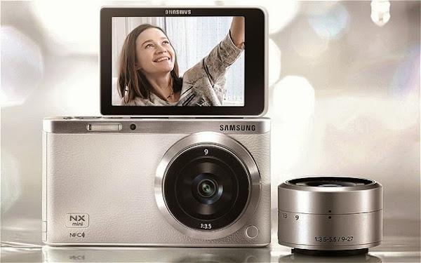 Kamera cerdas samsung NX mini
