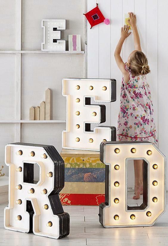 letras grandes decorativas