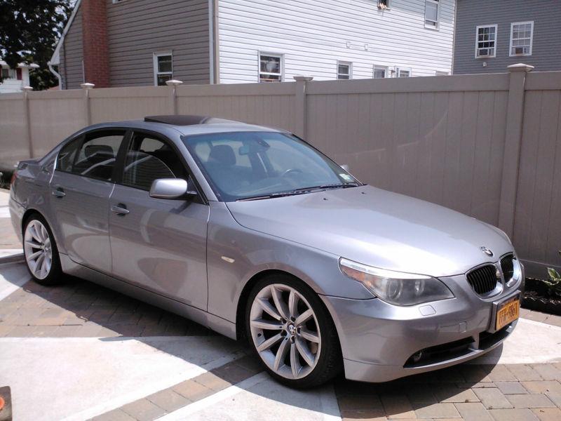 daily turismo 15k clutch player 2004 bmw 545i 6 spd e60 rh dailyturismo com e60 545i manual for sale 2010 BMW 525I for Sale