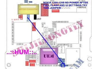Solusi Nokia 1200 Power
