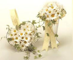 Daisy wedding bunch