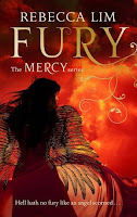 Book cover of Fury, book 4 of the Mercy series, by Rebecca Lim