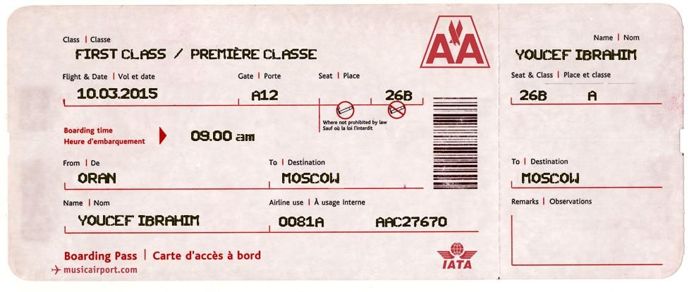 Bien connu Truc Pour Générer Un faux Billets d'Avion - Tech-Tutoriel OJ66
