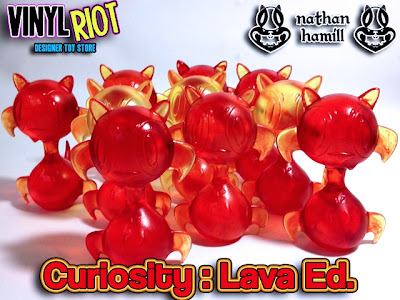 Lava Edition Curiosity Resin Figure by Nathan Hamill