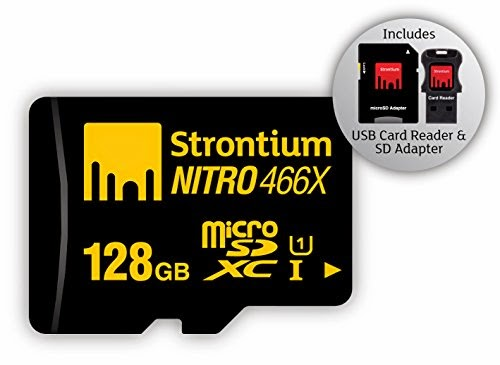 128GB MicroSD card Strontium Class 10 Nitro for Samsung Galaxy Note 4 & Note Edge