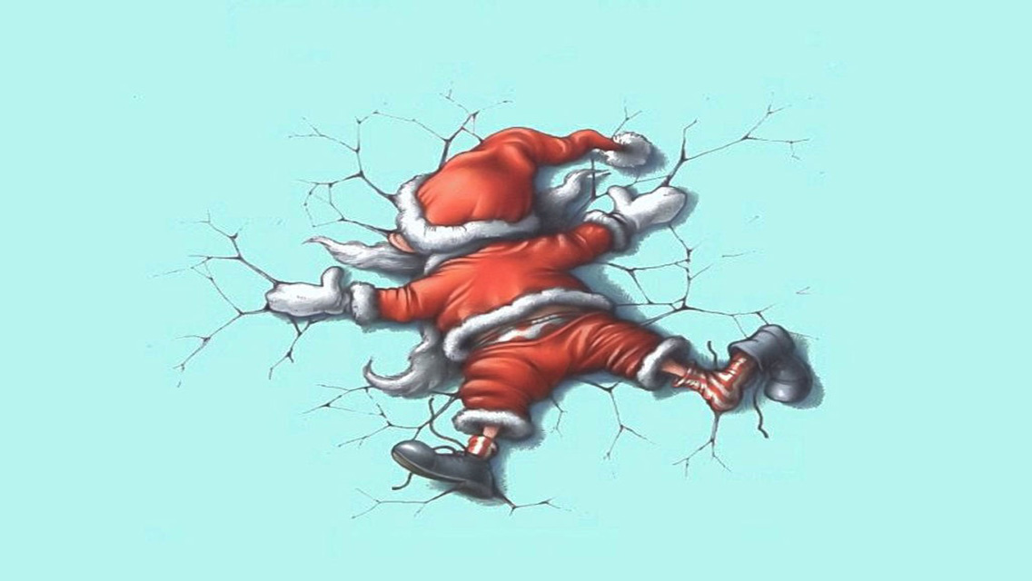 free download funny christmas hd wallpapers for iphone 5