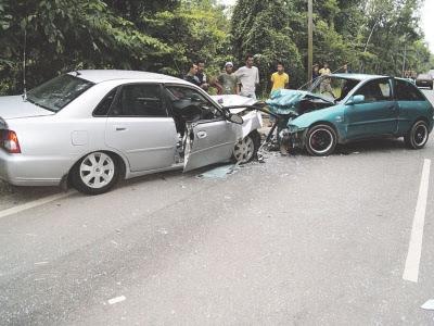 foto kemalangan maut