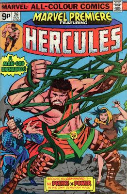 Marvel Premiere #26, Hercules
