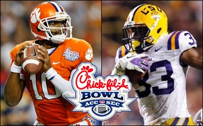 clemson vs lsu chick bowl LSU vs Clemson: Talented Tiger Teams Tangle in Chick fil A Bowl