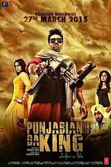 Punjabian Da King 2015 Punjabi WEB HDRip 480p 300mb