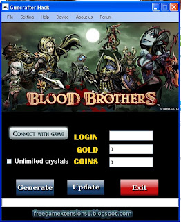 Hacks to games: Blood Brothers hack V5