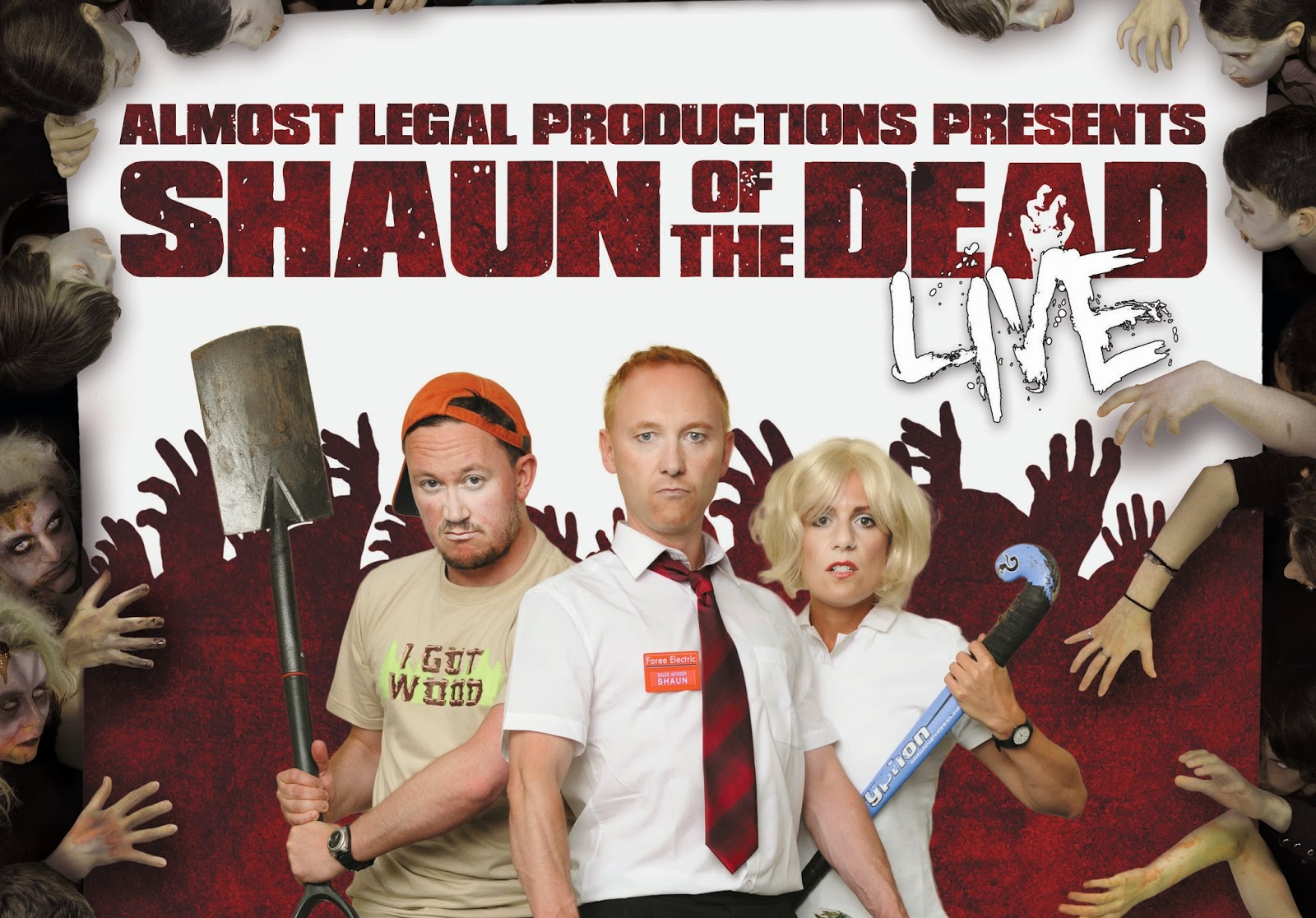 Shaun Of The Dead Live - Zombie of the Week