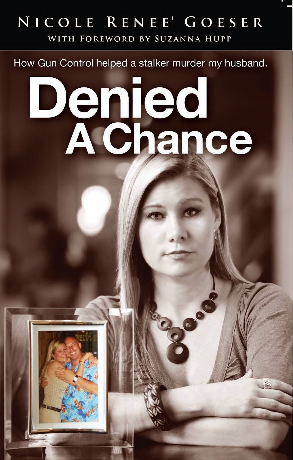 "Click cover image to order my book ""Denied A Chance."""