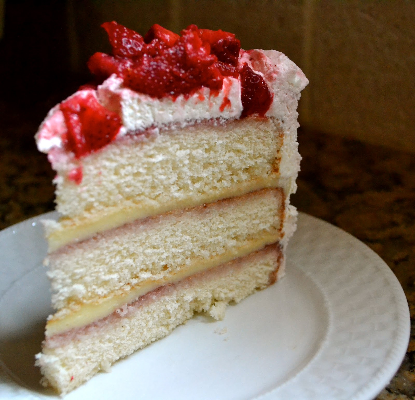 Hope Studios: Strawberry Shortcake Cake