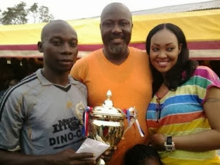 Dino Melaye and 'new wife'