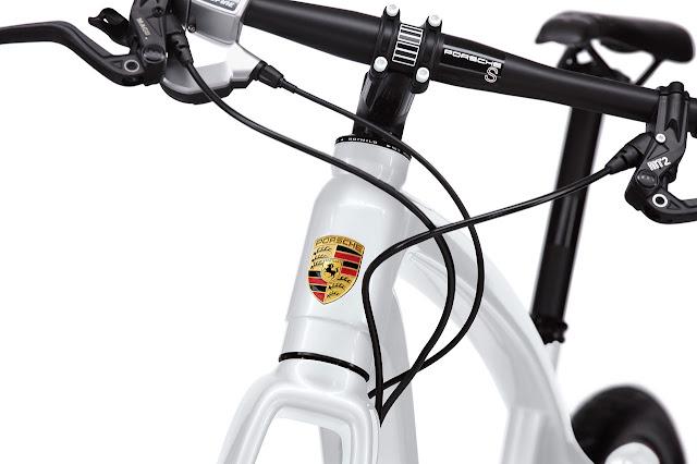 Porsche Bike S badge