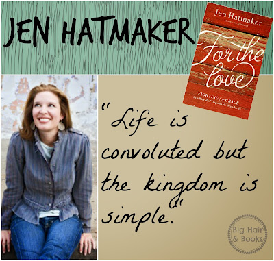 Jen Hatmaker quote from her new book For the Love