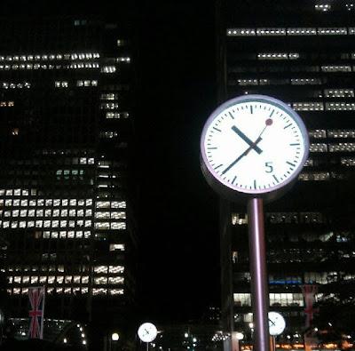Relojes en Londres