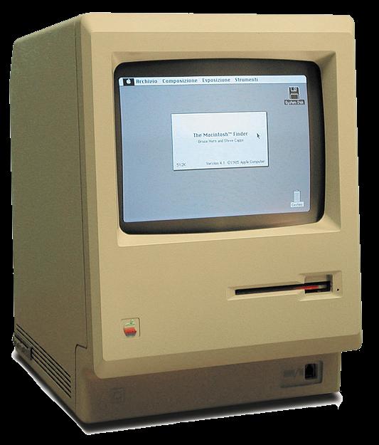 Macintosh 128K как телевизор