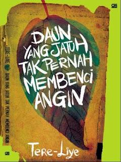 Jual Novel Daun Yang Jatuh Tak Pernah Membenci Angin Surabaya