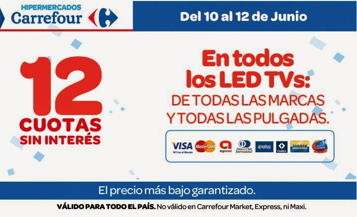 tecno promos argentina promo carrefour led tv. Black Bedroom Furniture Sets. Home Design Ideas