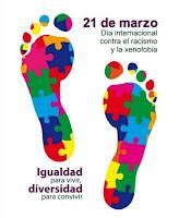 21 de marzo. Día internacional contra el racismo y la xenofobia