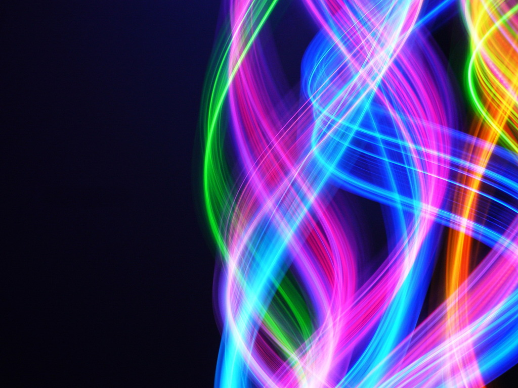 Rainbow Colors 3D Wallpaper