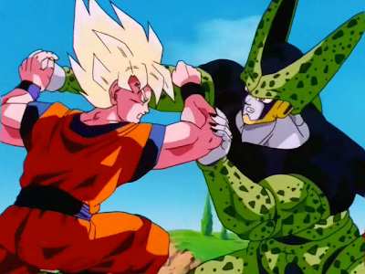 Super Saiyan 2 Gohan Vs Cell. Dragon Ball Z#39;s Cell Saga