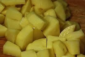 potatoes pieces