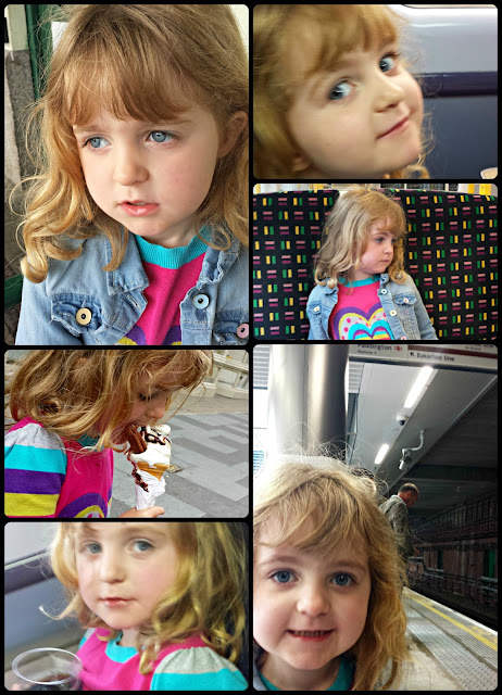 A four year old in London